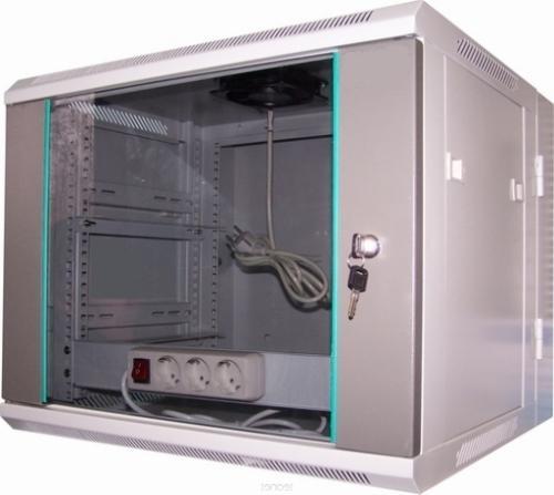 LC-R19-W9U600 GFlex Tango DL dzielona - Wiszące szafy teleinformatyczne 19