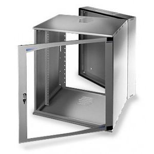 LC-R19-W16U500 Tecno Dzielona - Wiszące szafy teleinformatyczne 19