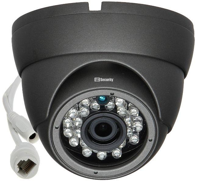 LC-141 IP Premium - Kamera z oświetlaczem IR - Kamery kopułkowe IP