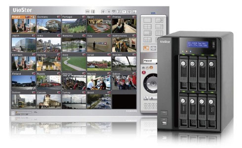 VS-8032 - Rejestratory sieciowe ip